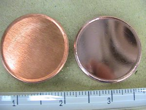 Copper coin blanks