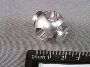 Finished aerospace connector component