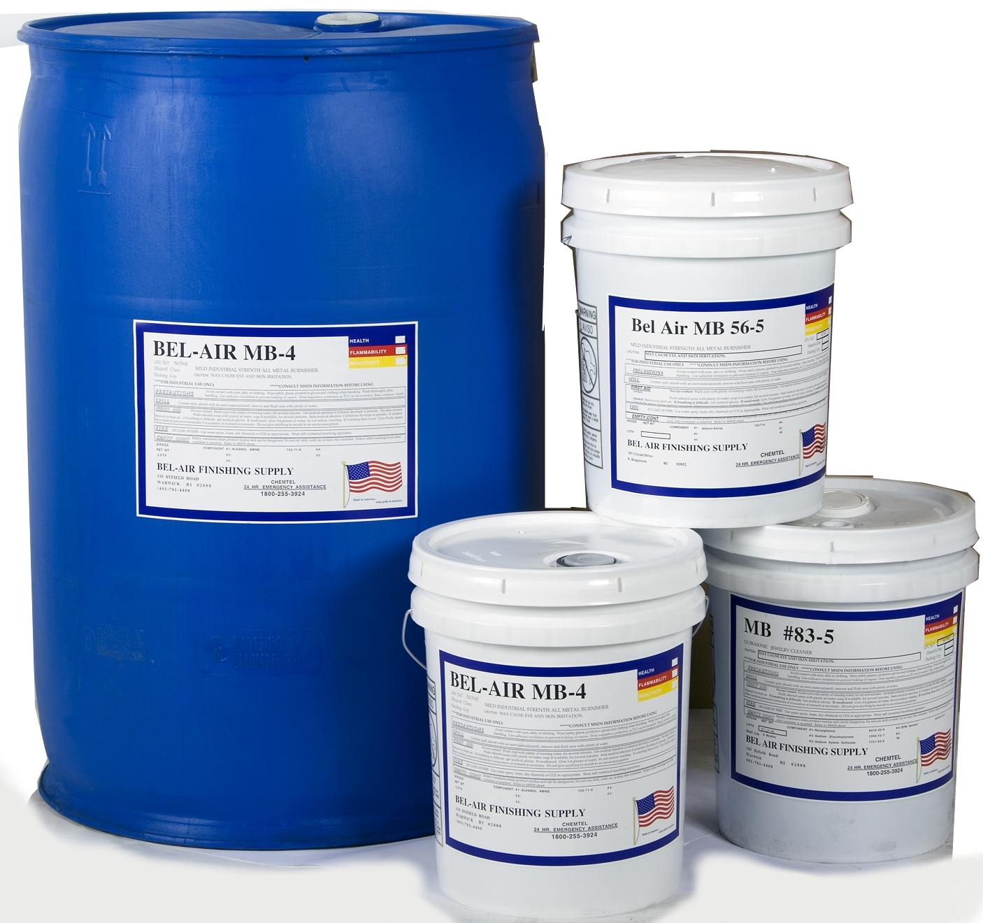Compounds for cleaning, rust prevention, lubrication and overall brightness of parts