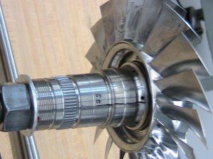 Finished aerospace engine blisk