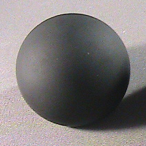 Ceramic sphere before
