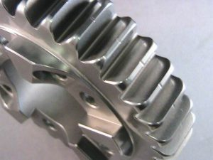 Carbon steel transmission gear finished