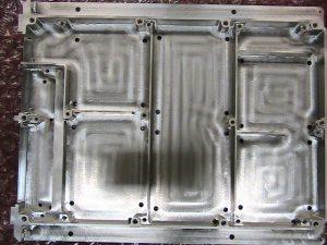 Aluminum aerospace electronics housing