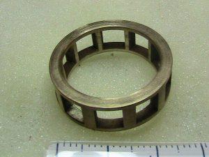 Bronze roller bearing cage