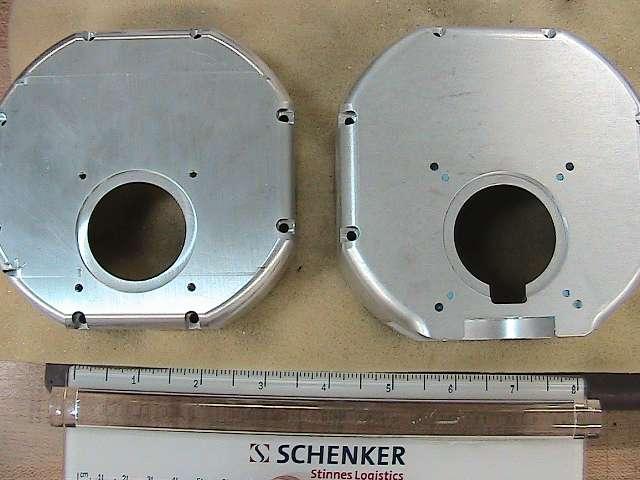 Industrial aluminum camera enclosure