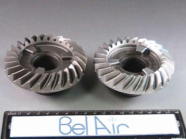 Industrial heat treated steel bevel gears