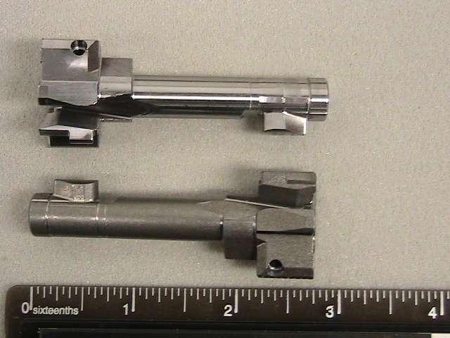Alloy steel firearms bolts