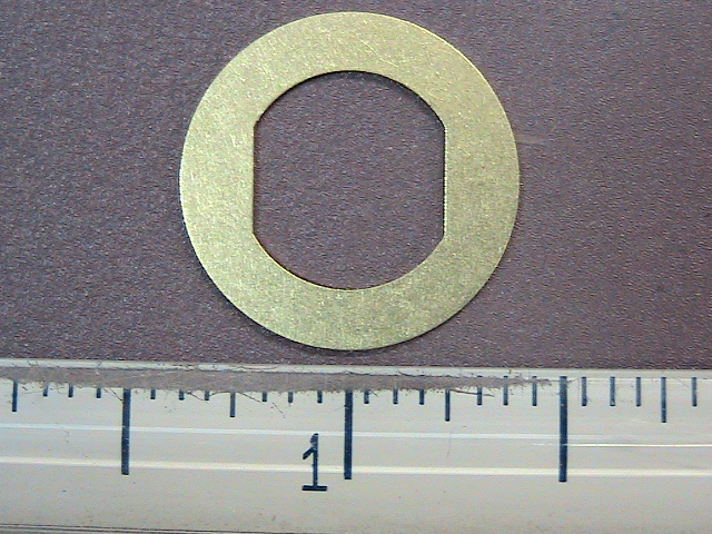 Industrial stamping washer