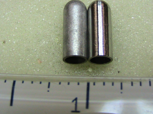 Copper gun bullet blank
