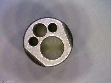 Cobalt chrome medical scope tip
