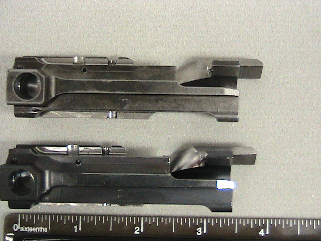 Alloy steel firearms bolt action