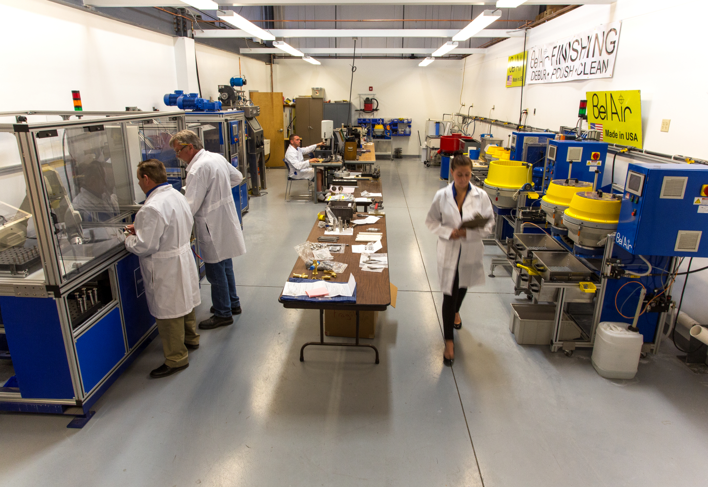 3D Post Processing Laboratory, array of post processing equipment and supplies
