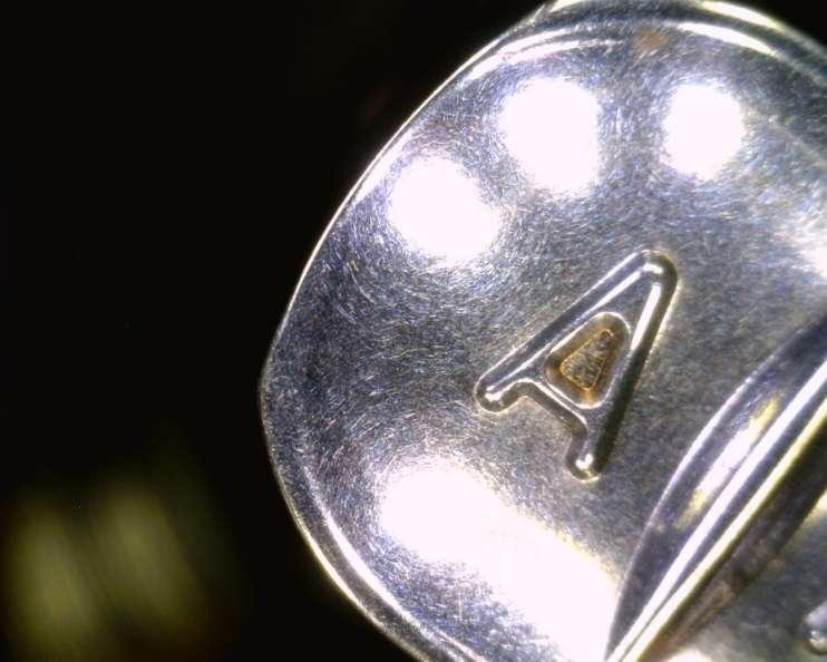 Tool steel pharmaceutical pill punch imprint
