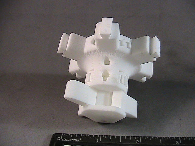 PA-1100 printed mold extraction gear