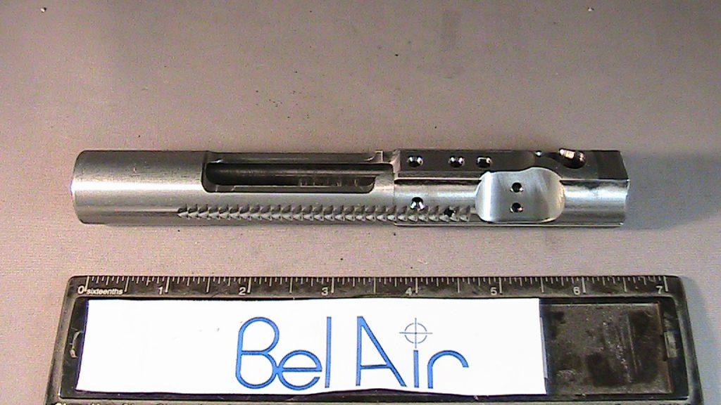 Handgun slide before
