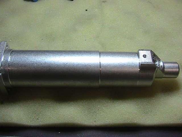 Industrial aluminum CNC lathe nozzle blank