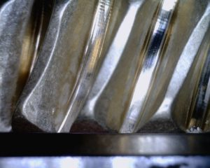 Industrial machined gear after