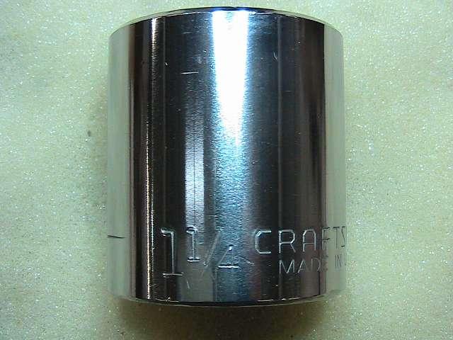 Industrial heat treated steel socket wrench