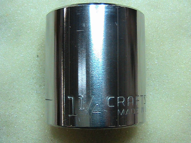 Machining industrial heat treated steel socket wrench