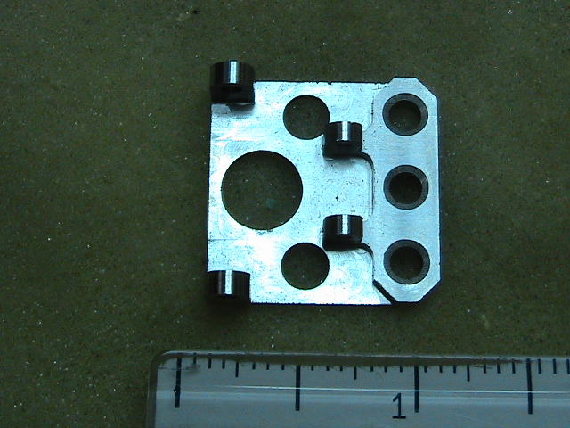 Industrial stainless steel CNC machined component