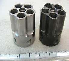 Alloy steel revolver cylinder finished