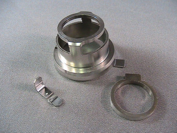 Assorted industrial alloy steel CNC lathe parts
