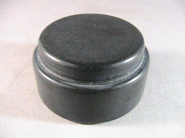 Vero black 3d plastic test puck after