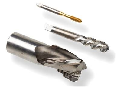 Example of honing and polishing process on cutting tools