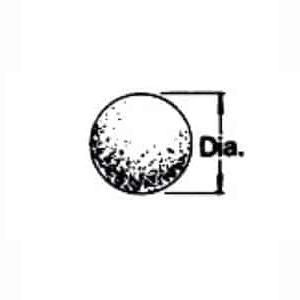 ball shaped media