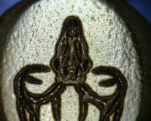 as printed jewelry before polishing