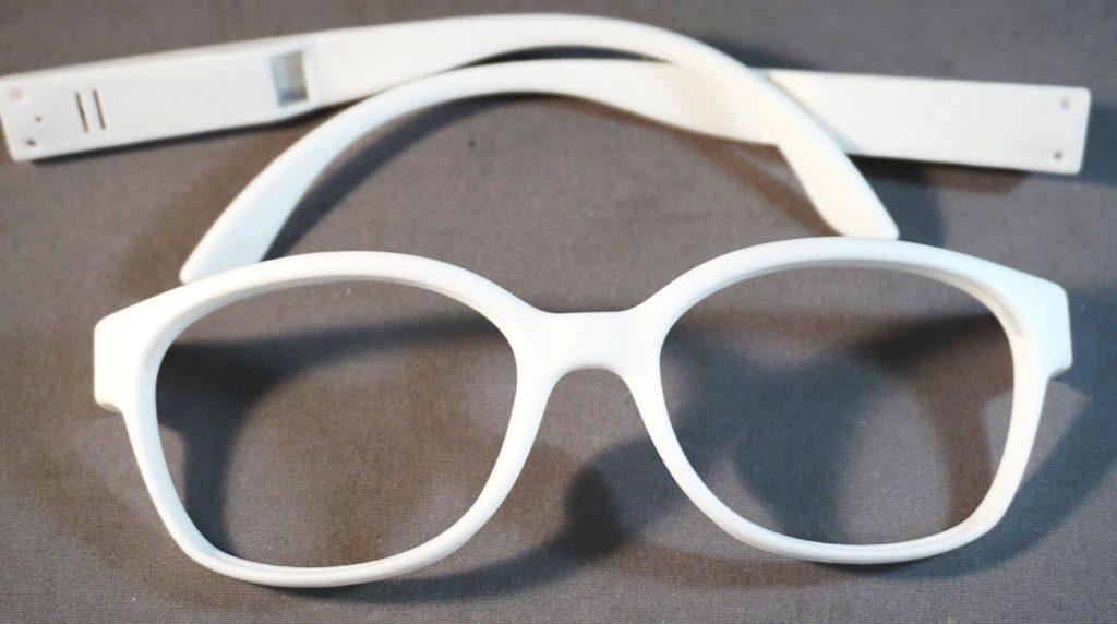 post processing- eye glass frame