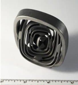metal tumbler polisher example after process