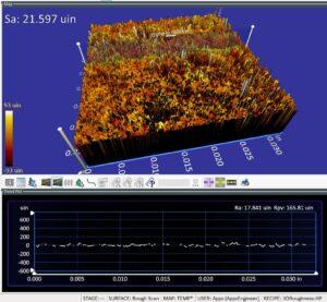 Formlabs SLS nylon test part after metrology report