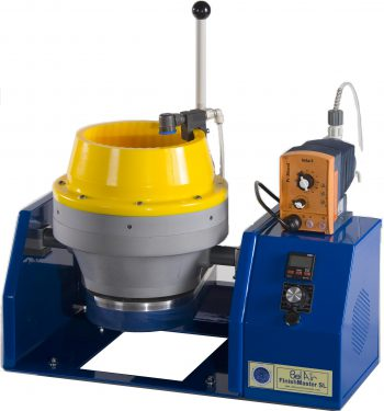High Energy Centrifugal Disc Finisher, Table Top, Eight Liter
